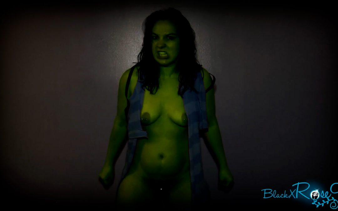 She Hulk's Midnight Destruction